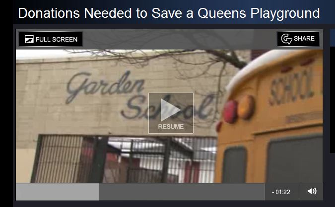 Donations Needed to Save a Queens Playground